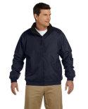 Harrington Fleece-Lined Nylon Jacket m740 black, khaki, graphite, hunte, maron, navy, red, true royal
